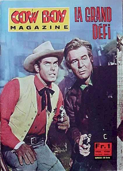 Jeffrey Hunter  cover photo  Robert Ryan