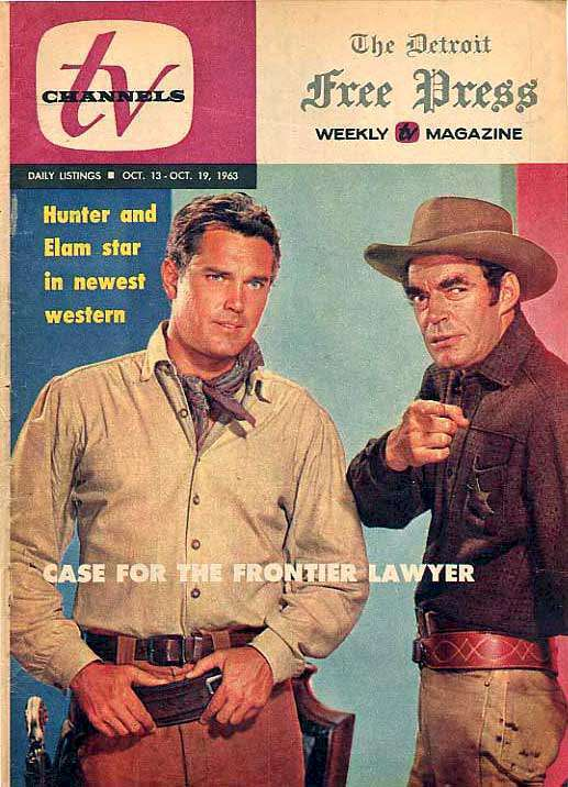 Jeffrey Hunter  cover photo  Temple Houston  Jack Elam
