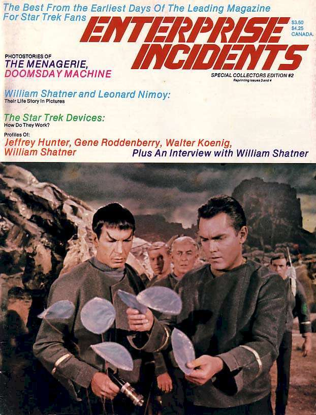 Jeffrey Hunter  cover photo  Star Trek  Leonard Nimoy