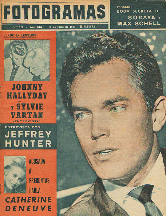 Jeffrey Hunter  cover photo