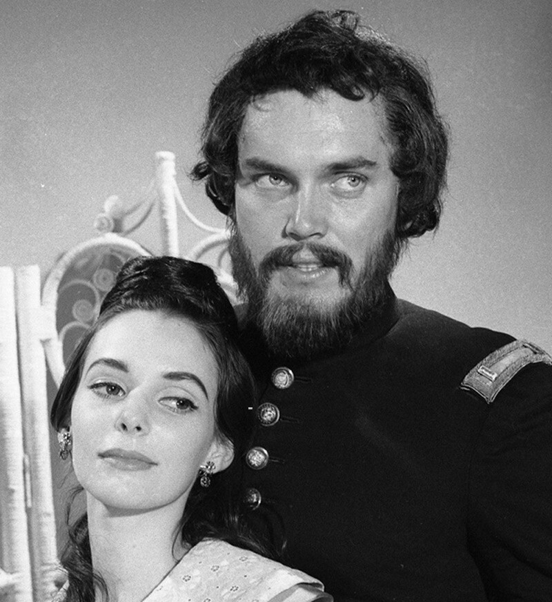 Jeffrey Hunter  Our American Heritage  Destiny, West!  Susan Strasberg