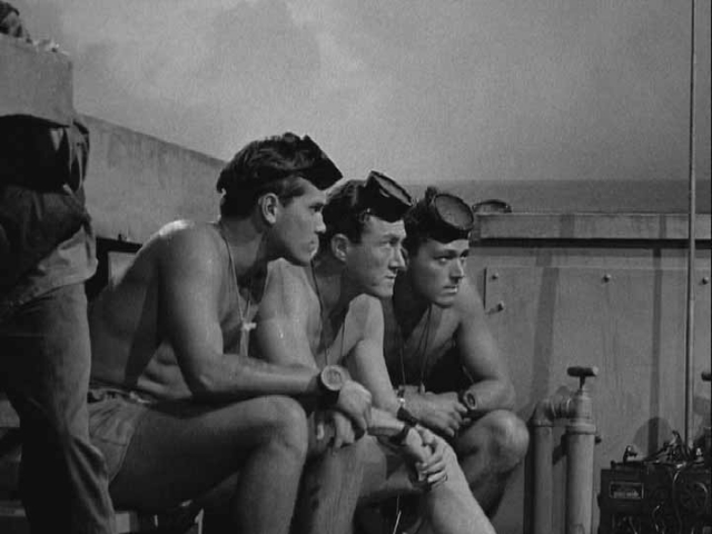 The Frogmen  Jeffrey Hunter