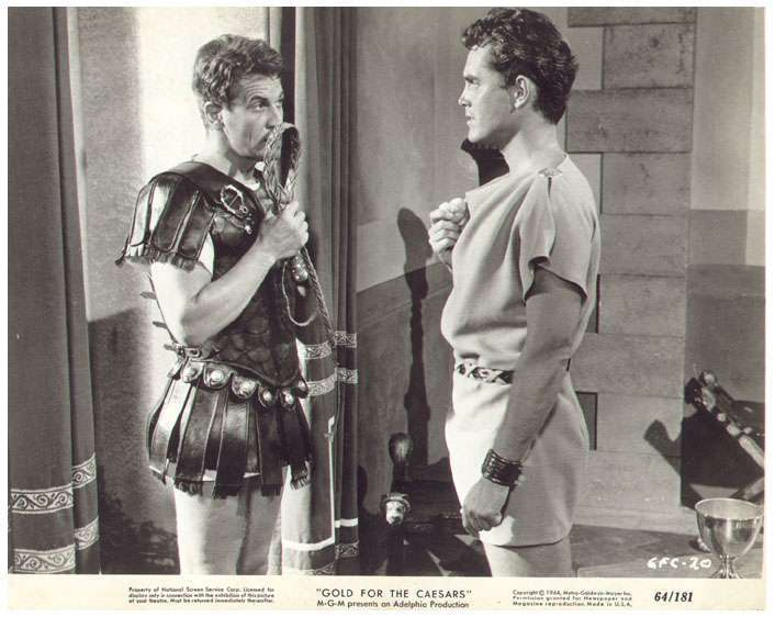 Gold for the Caesars  Jeffrey Hunter