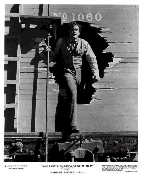 The Great Locomotive Chase  Jeffrey Hunter