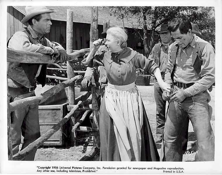 Gun for a Coward  Jeffrey Hunter  Josphine Hutchinson   Fred MacMurray