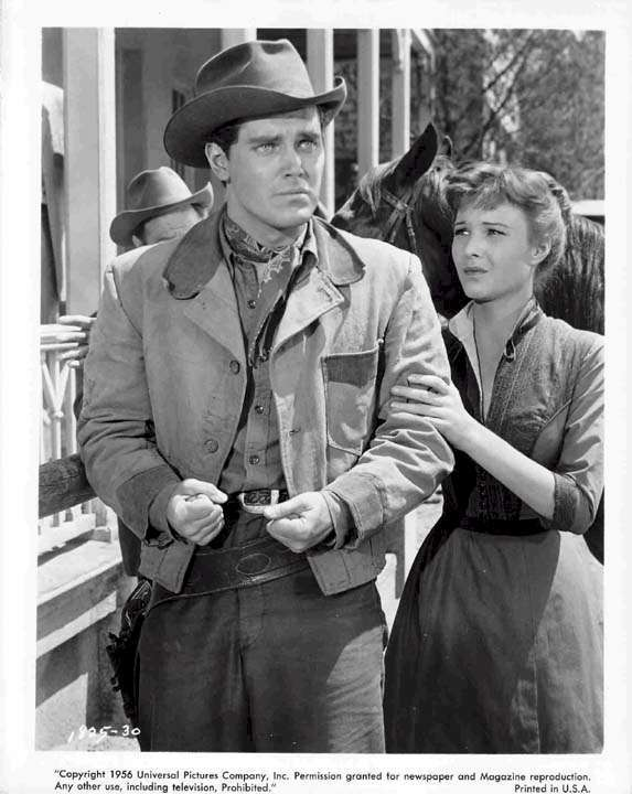 Gun for a Coward  Jeffrey Hunter  Janice Rule