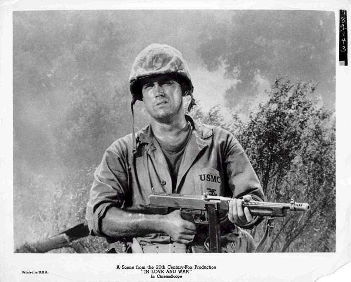 In Love and War  Jeffrey Hunter
