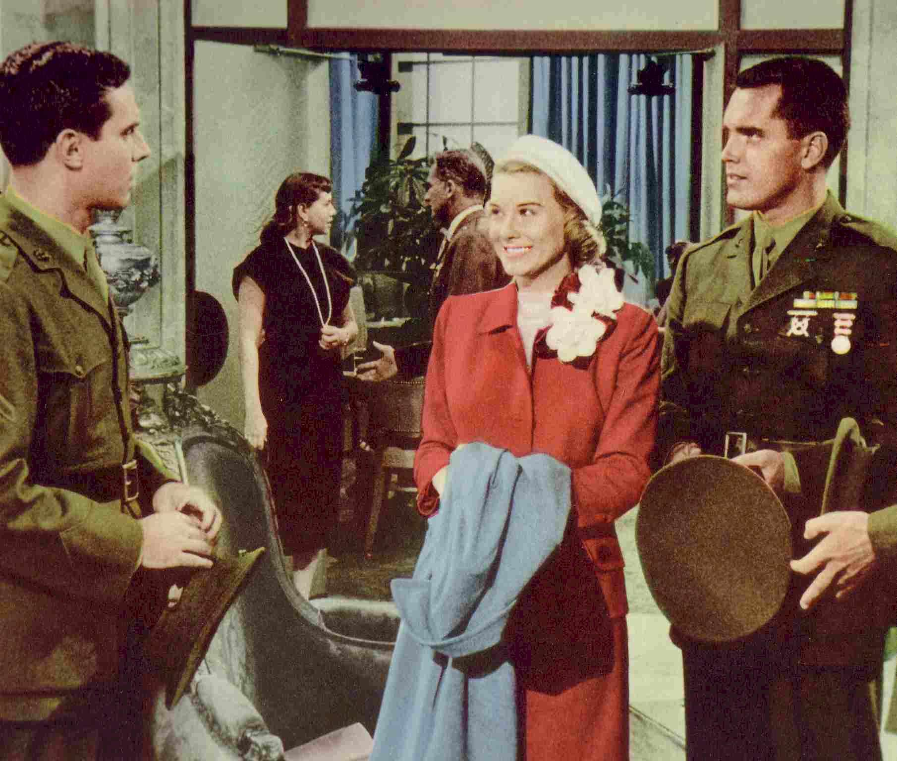 In Love and War  Jeffrey Hunter  Hope Lange  Bradford Dillman