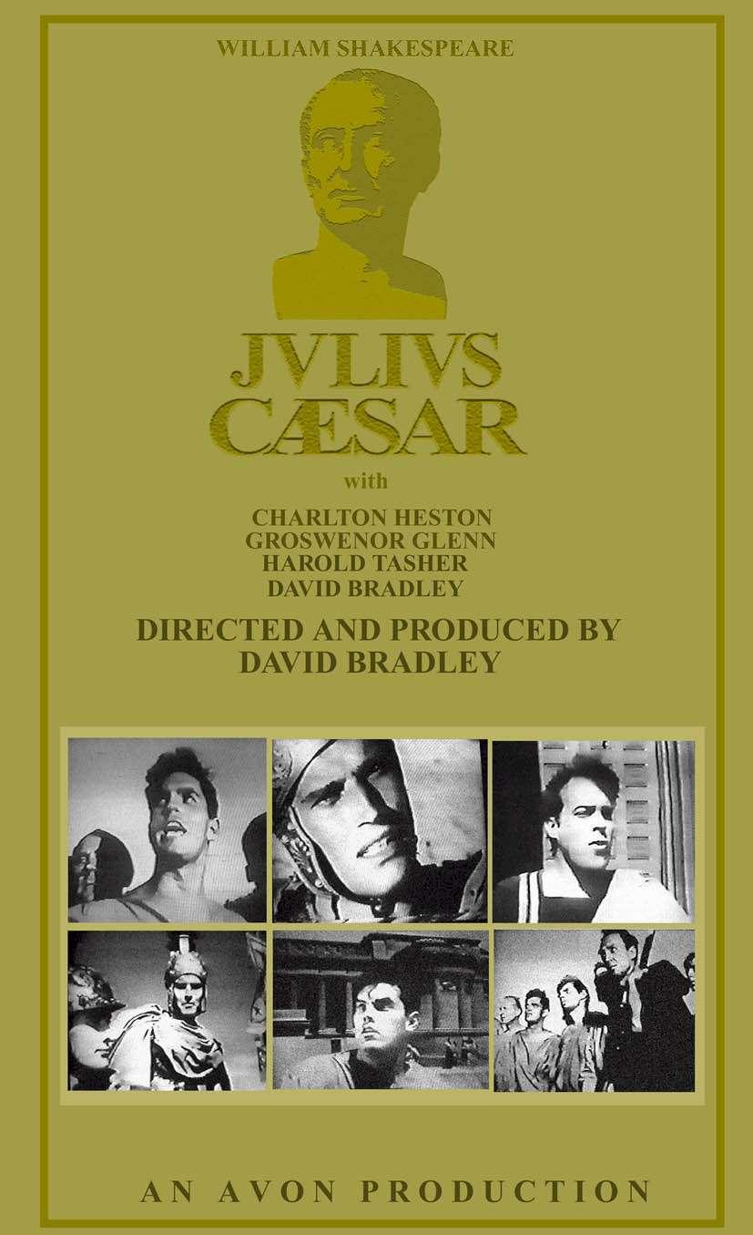 Julius Caesar  Charlton Heston  Jeffrey Hunter