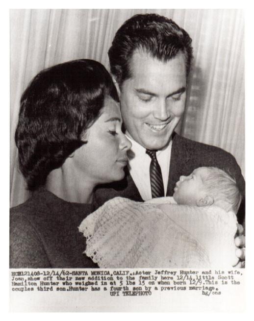 Jeffrey Hunter  Dusty Bartlett  wife  Scott