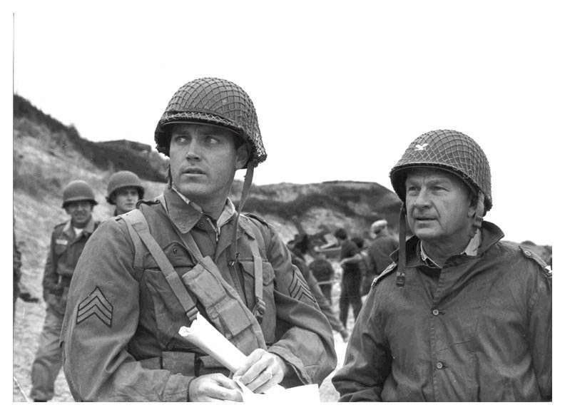 The Longest Day  Jeffrey Hunter  Eddie Albert