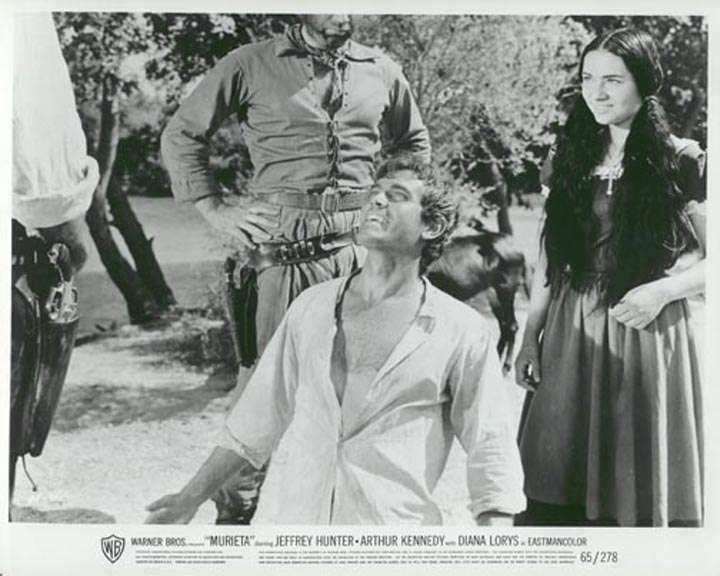 Murieta!  Jeffrey Hunter  Sara Lezana