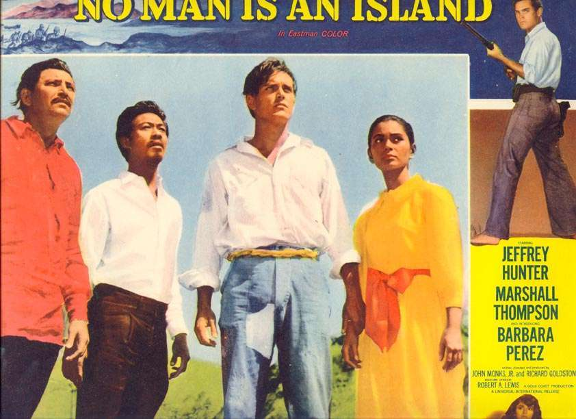 No Man is an Island  Jeffrey Hunter  Barbara Perez