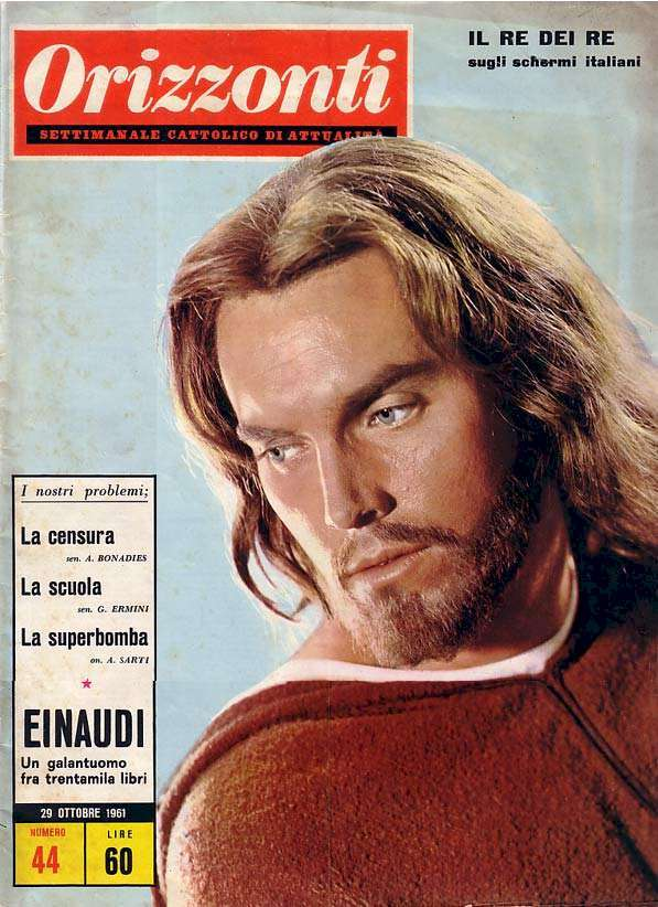 Jeffrey Hunter  cover photo  King of Kings