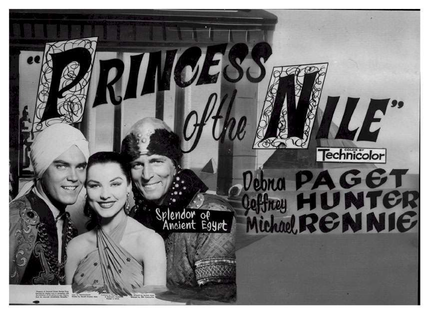 Princess of the Nile  Jeffrey Hunter  Debra Paget  Michael Rennie