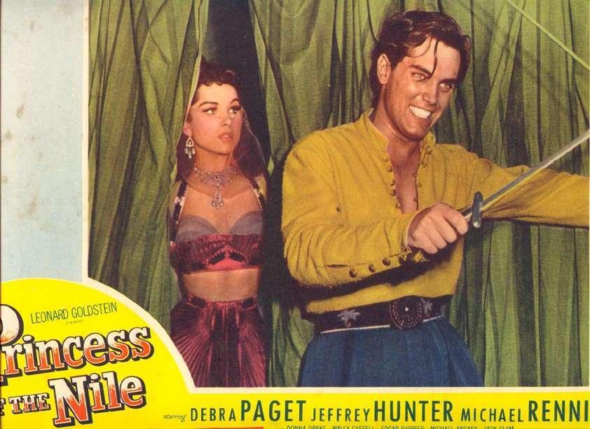 Princess of the Nile  Jeffrey Hunter  Debra Paget