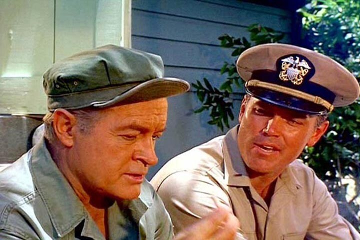 The Private Navy of Sgt. O'Farrell  Jeffrey Hunter  Bob Hope