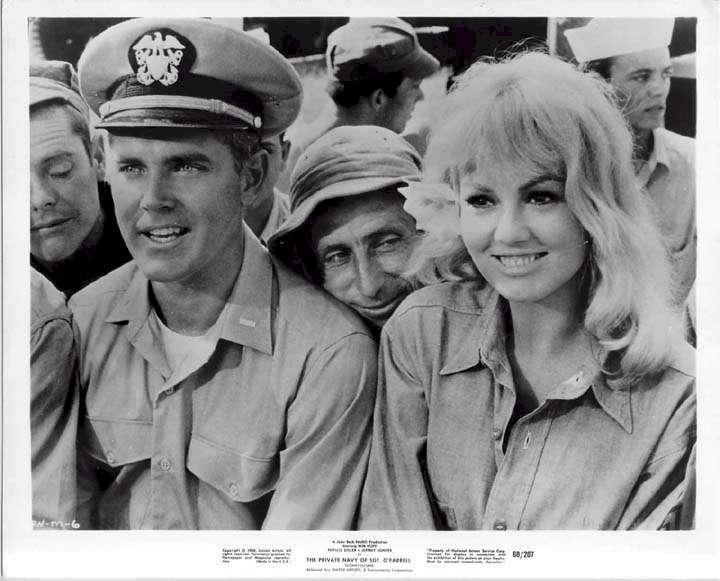 The Private Navy of Sgt. O'Farrell  Jeffrey Hunter  Mylene Demongeot