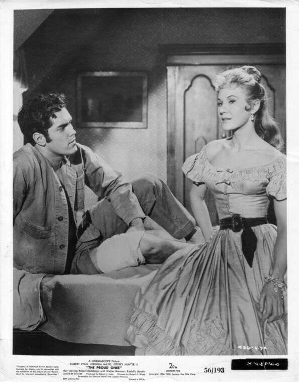 The Proud Ones  Jeffrey Hunter  Virginia Mayo