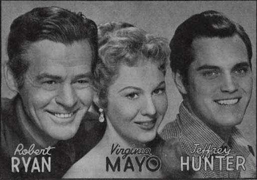 The Proud Ones  Jeffrey Hunter  Robert Ryan  Virginia Mayo