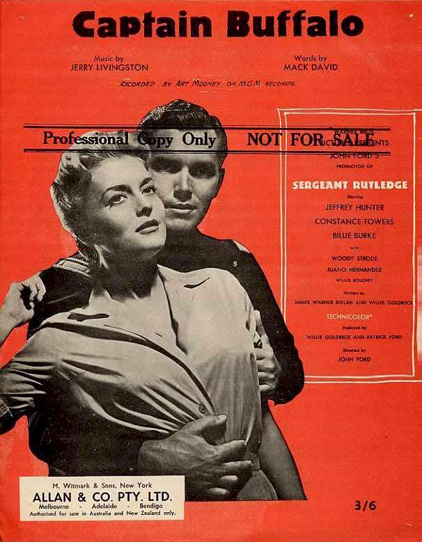 Jeffrey Hunter  cover photo  Constance Towers