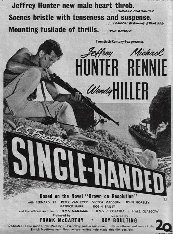 Sailor of the King  Jeffrey Hunter poster