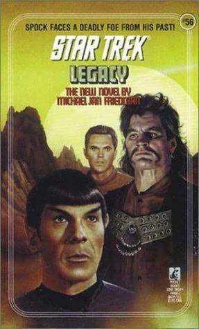 Jeffrey Hunter  Star Trek book cover  Legacy