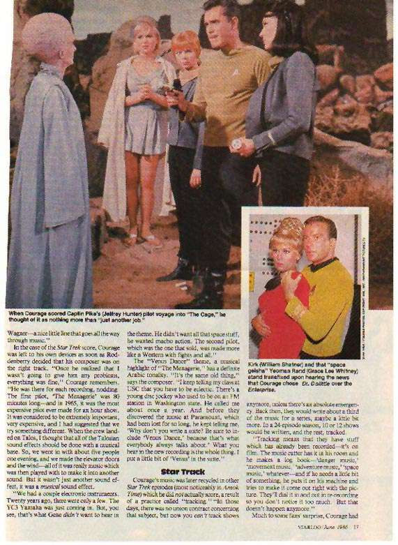 Jeffrey Hunter  Captain Christopher Pike  Star Trek  Majel Barrett  Susan Oliver  Laurel Goodwin  William Shatner