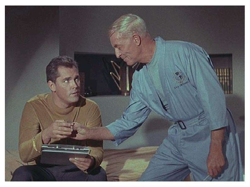 Jeffrey Hunter  Captain Christopher Pike  Star Trek  John Hoyt