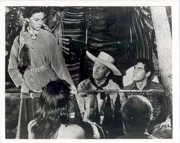 The Searchers  Jeffrey Hunter  Natalie Wood  John Wayne