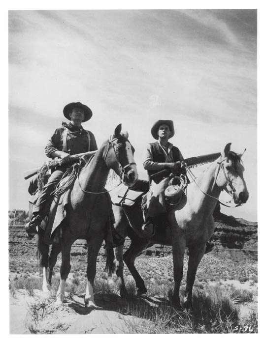 The Searchers  Jeffrey Hunter  John Wayne