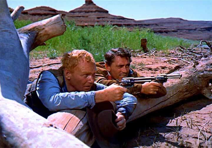 The Searchers  Harry Carey, Jr.  Ken Curtis