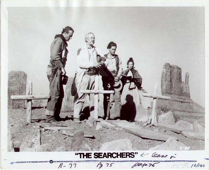 The Searchers  Jeffrey Hunter  John Wayne  Ward Bone