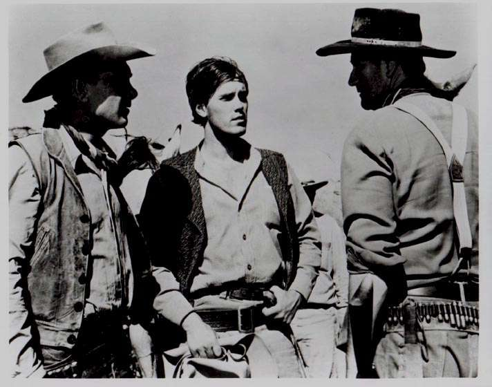 The Searchers  Jeffrey Hunter  John Wayne  Harry Carey, Jr.