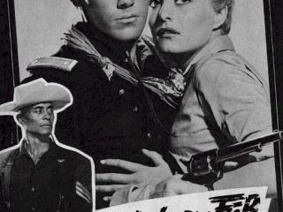 Sergeant Rutledge  Jeffrey Hunter  Woody Strode  Constance Towers  German movie program