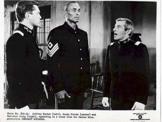 Sergeant Rutledge  Jeffrey Hunter  Woody Strode  Carleton Young