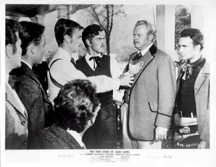 The True Story of Jesse James  Jeffrey Hunter  Robert Wagner  Alan Hale, Jr.