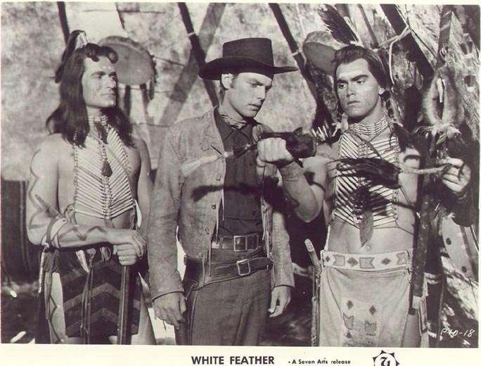 White Feather  Jeffrey Hunter  Robert Wagner  Hugh O'Brian