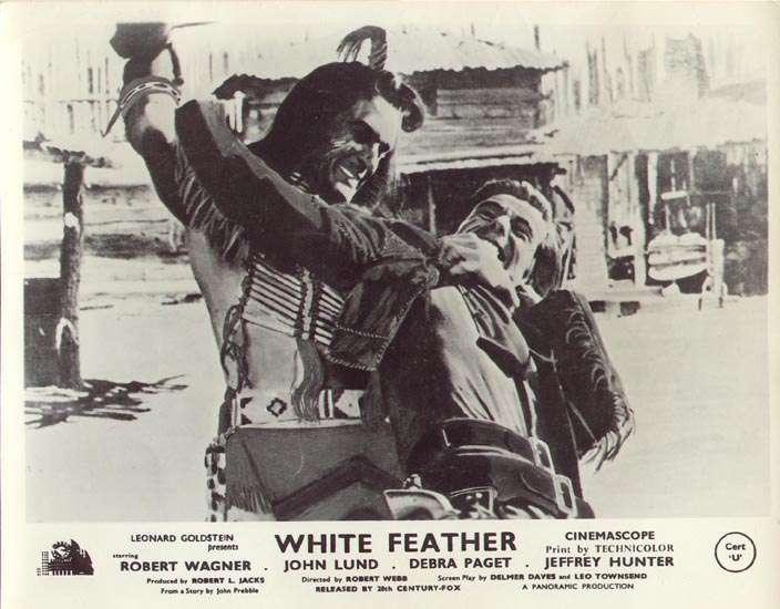 White Feather  Hugh O'Brian  Robert Wagner