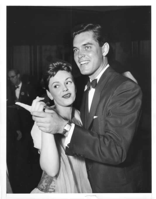 Jeffrey Hunter  Peggy King