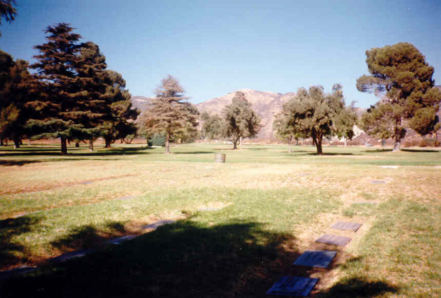 Jeffrey Hunter actor gravesite