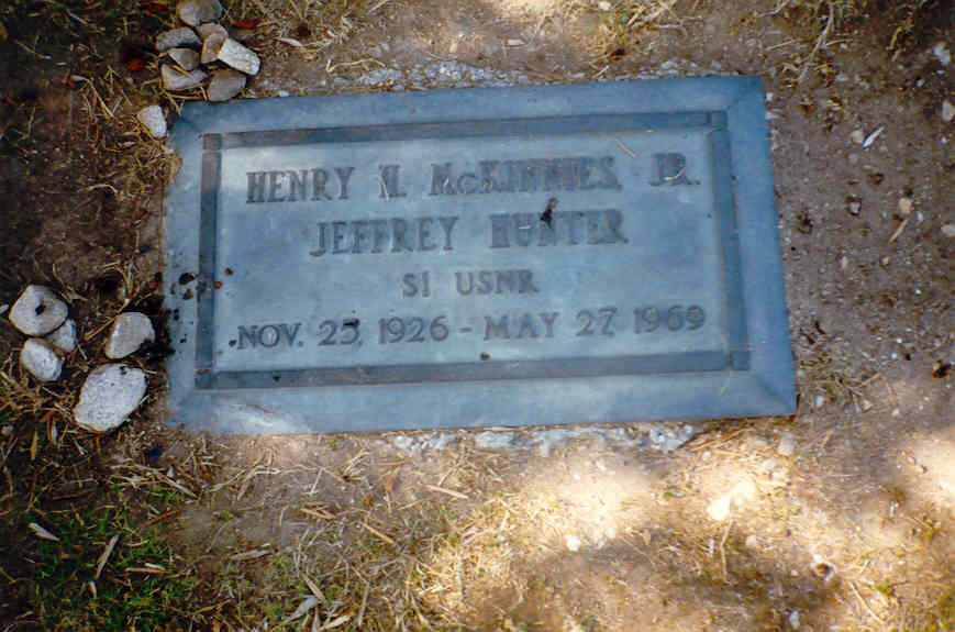 Jeffrey Hunter actor grave