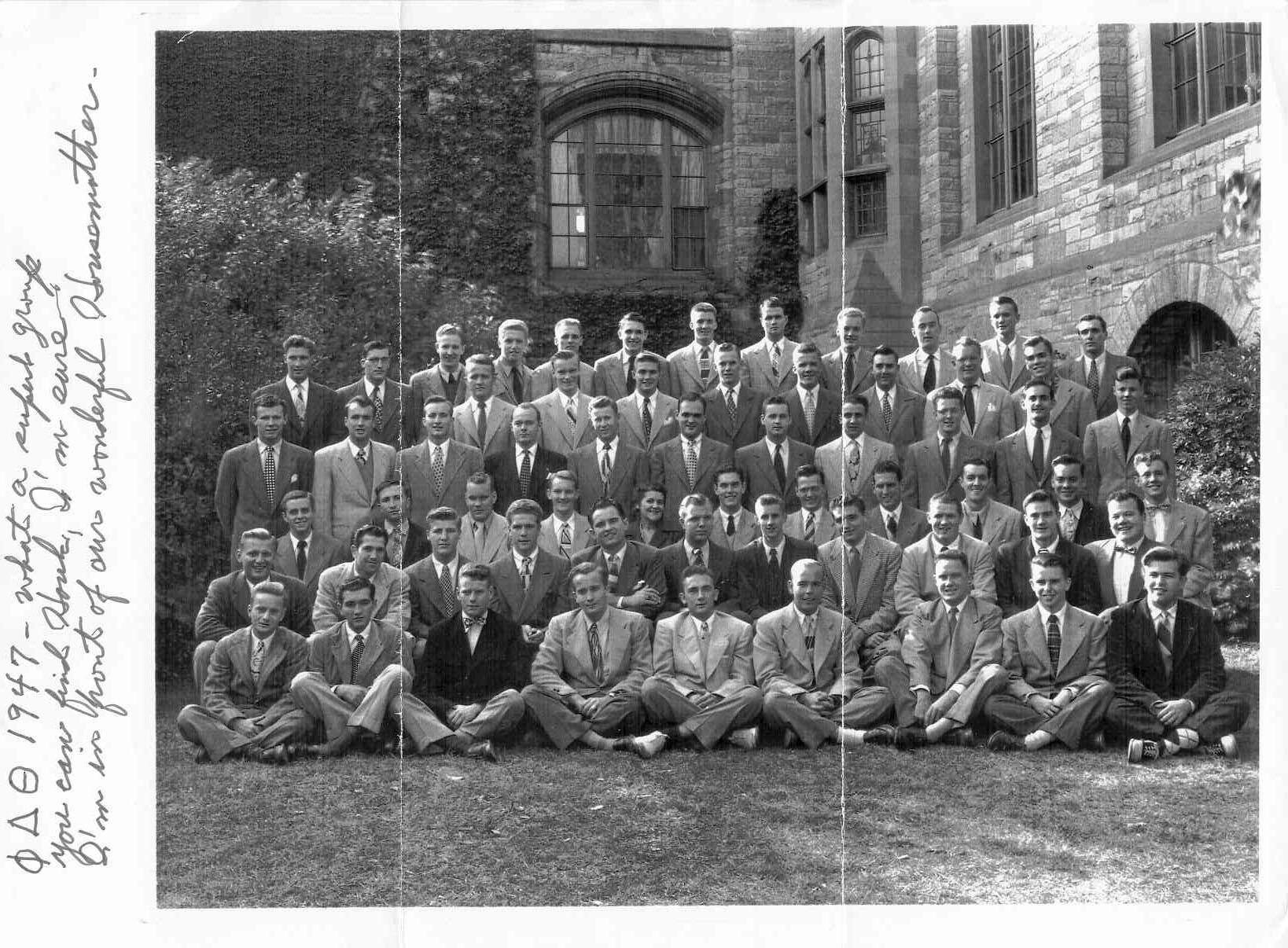 Jeffrey Hunter  Northwestern University  Phi Delta Theta fraternity