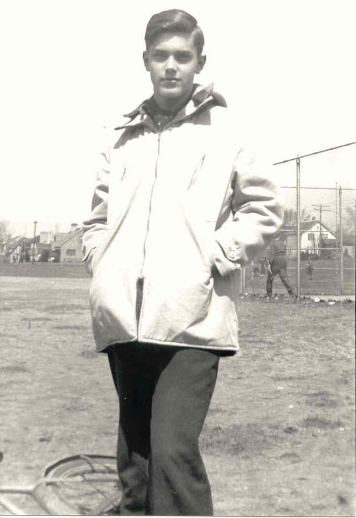 Jeffrey Hunter  early adolescence