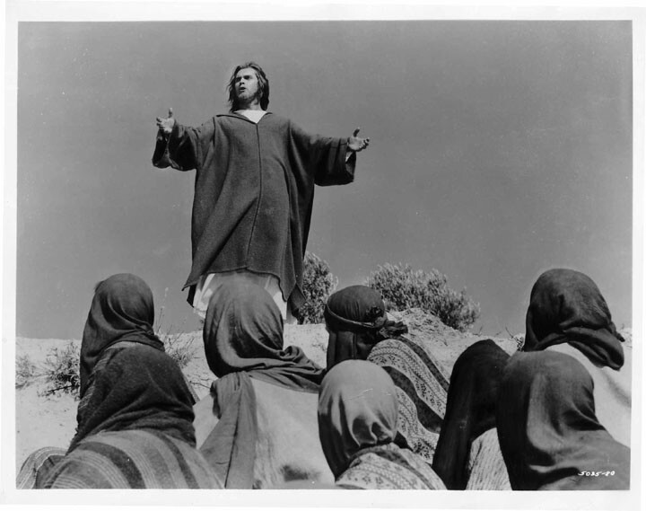 King of Kings  Jeffrey Hunter  Sermon on the Mount
