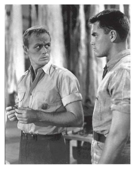 Red Skies of Montana  Jeffrey Hunter  Richard Widmark