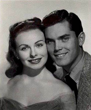 Belles On Their Toes Portrait of Jeffrey Hunter and Jeanne Crain