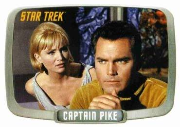 Jeffrey Hunter  Captain Christopher Pike  Star Trek  Susan Oliver