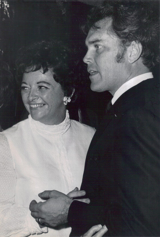 Jeffrey Hunter  Emily McLaughlin  wife