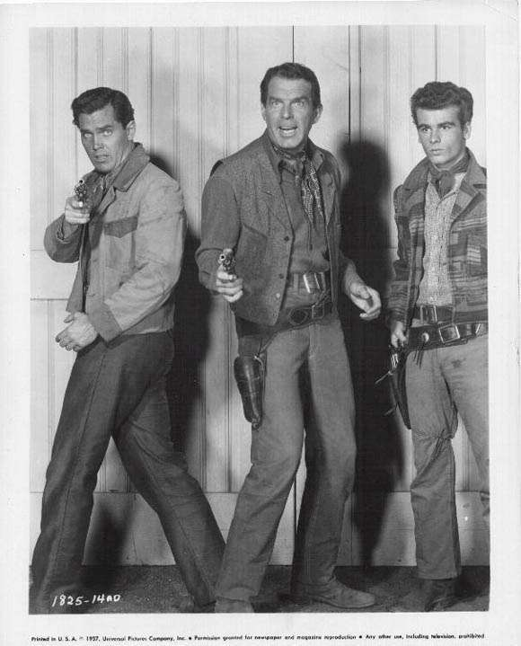 Gun for a Coward  Jeffrey Hunter  Dean Stockwell  Fred MacMurray